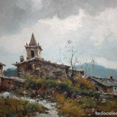 Arte: JOSEP COLOMER I COMAS (SANT FELIU DE PALLAROLS, GIRONA 1935-2003) OLEO SOBRE TELA. JOANETES. Lote 174952595