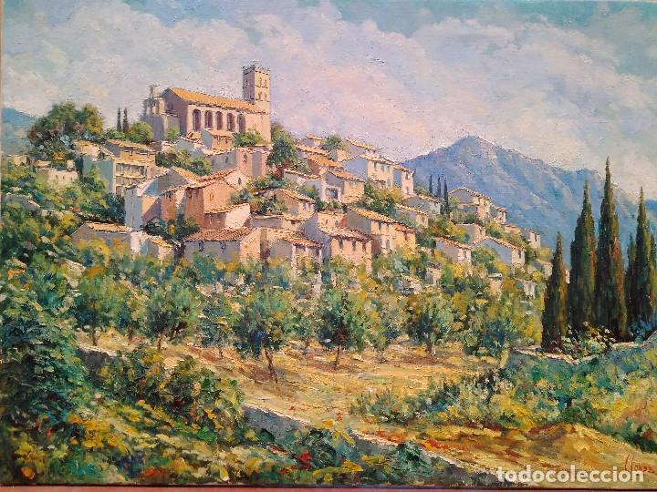 CONDE DIXON, CÁNDIDO. SELVA (MALLORCA ) (Arte - Pintura - Pintura al Óleo Contemporánea )