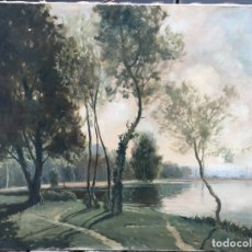 Arte: ALBERT-GABRIEL RIGOLOT (1862-1932) (ATTRIB) - PINTOR FRANCÉS - ÓLEO SOBRE TELA. Lote 175067394