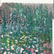 Arte: CAMPO DE AMAPOLAS. ÓLEO SOBRE LIENZO. ATRIB. VIDALLER ( JUAN F ). SIGLO XX. . Lote 175085799