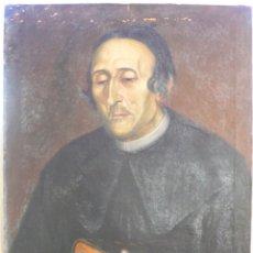 Arte: OLEO: RETRATO DEL P DR. D. GASPAR CABRERA Y SOLER, VALENCIANO. PRINCIPIOS S. XIX. ANÓNIMO.. Lote 175148289