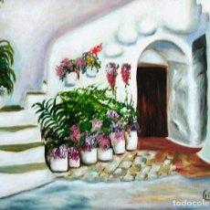 Arte: PATIO OBRA DE GILABERTE. Lote 175152717