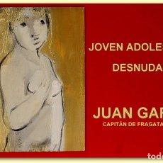 Arte: JOVEN ADOLESCENTE DESNUDA. JUAN GARCÉS.. Lote 126295459