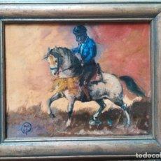 Arte: OBRA DEL PINTOR TORO PIRIZ. Lote 175194535