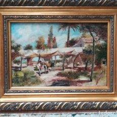 Arte: CUADRO DE JOSE MONTENEGRO CAPELL , PINTOR GADITANO Y AFINCADO EN JEREZ. Lote 175197713
