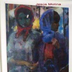 Arte: PINTOR ZAMORANO-JESÚS MOLINA ,OBRA ORIGINAL 110X69CM. Lote 175208232
