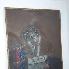 Arte: OLEO SOBRE LIENZO DE RICARDO BERNARDO VERAMON 1929. Lote 175223729