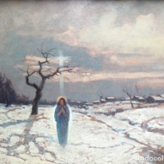 Arte: ROMITI GINO (1881-1967) PINTOR ITALIANO. OLEO SOBRE TABLA. Lote 175225685