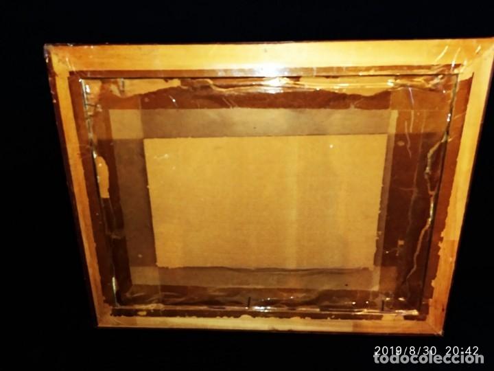 Arte: ÓLEO SOBRE TABLA FIRMADO GUILLEM ? GUILLEN ? ANTIGUO PAISAJE CAMPO CASA ESCENA CAMPESTRE - Foto 5 - 175226713
