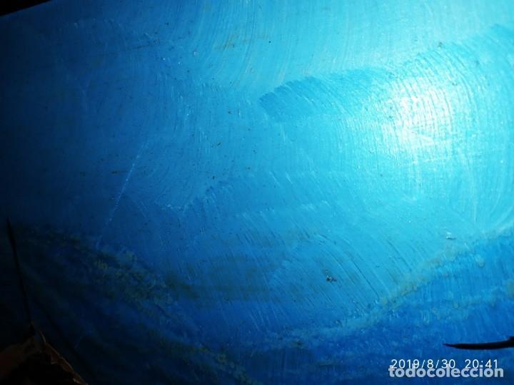 Arte: ÓLEO SOBRE TABLA FIRMADO GUILLEM ? GUILLEN ? ANTIGUO PAISAJE CAMPO CASA ESCENA CAMPESTRE - Foto 12 - 175226713