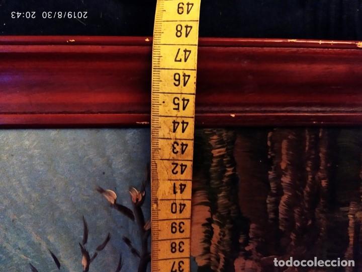 Arte: ÓLEO SOBRE TABLA FIRMADO GUILLEM ? GUILLEN ? ANTIGUO PAISAJE CAMPO CASA ESCENA CAMPESTRE - Foto 21 - 175226713