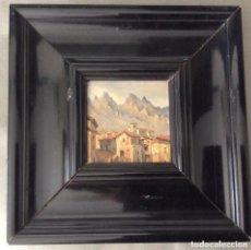 Arte: JESUS APELLANIZ (VITORIA 1897-1969).ÓLEO SOBRE TABLA . Lote 175601033