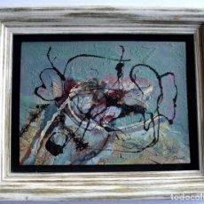 Arte: THARRATS, OBRA ORIGINAL, ÓLEO SOBRE LIENZO, FIRMADO.. Lote 175654363