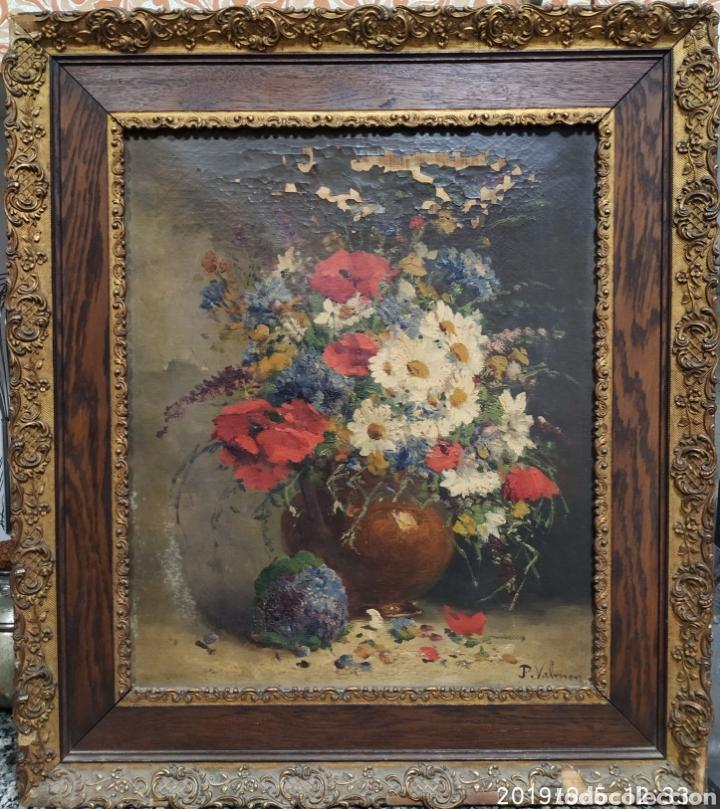 ORIGINAL, HENRI EUGEN CAUCHOIS (Arte - Pintura - Pintura al Óleo Antigua siglo XVIII)