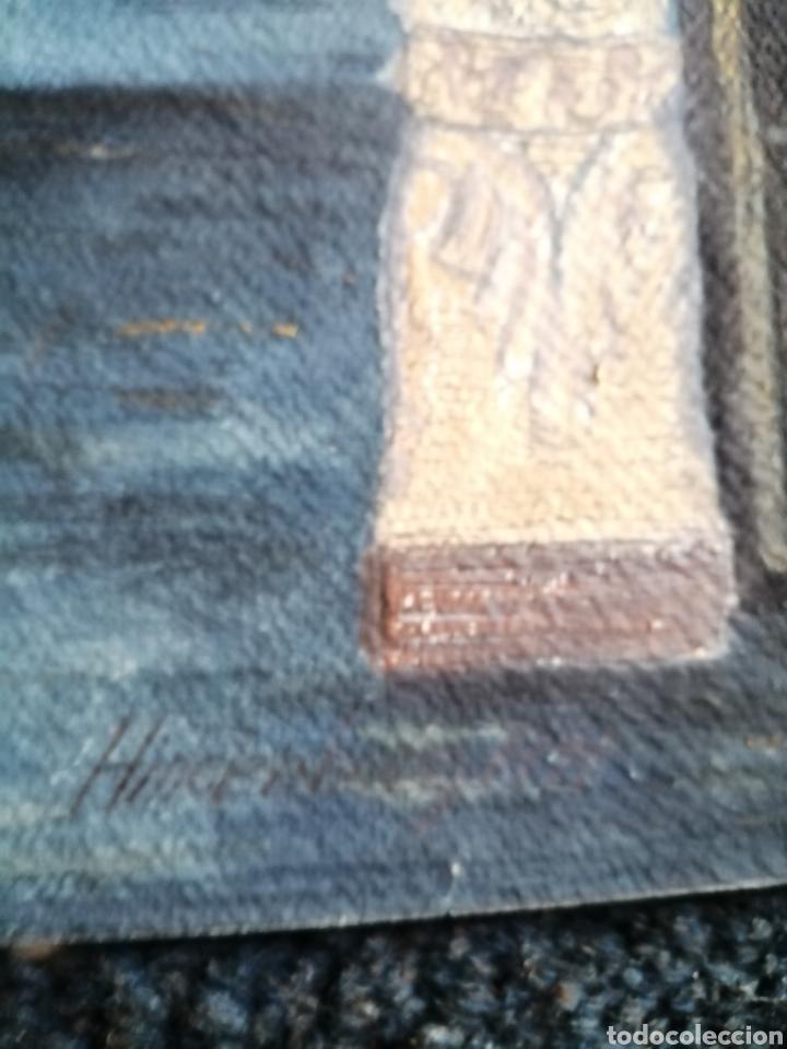 Arte: Escenografía. Pintura sobre cartón firmada. - Foto 3 - 175699722