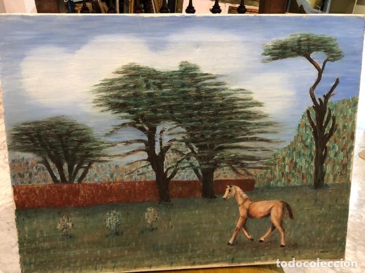 ESCENA SURREALISTA INTERESANTE PAISAJE, ESC INGLESA (Arte - Pintura - Pintura al Óleo Contemporánea )