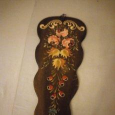 Arte: PRECIOSO CUADRO PINTADO EN TABLA MUY ORIGINAL,FLORES FIRMADO. BM. Lote 175735583