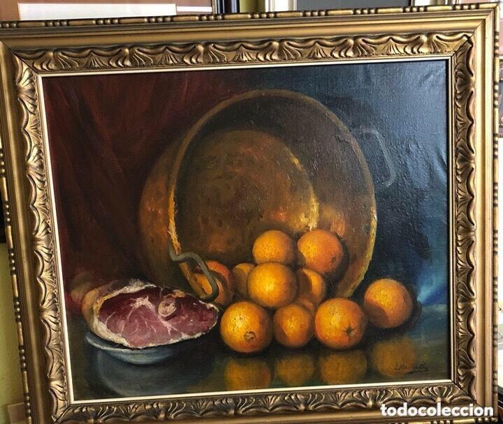 OLEO/LIENZO FIRMANDO MONTAÑÉS MEDIDAS 66X54 (Arte - Pintura - Pintura al Óleo Antigua sin fecha definida)