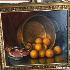 Arte: OLEO/LIENZO FIRMANDO MONTAÑÉS MEDIDAS 66X54. Lote 175767162