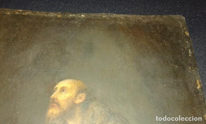 Arte: San Francisco. Óleo sobre cobre. Siglo XVII - XVIII. - Foto 8 - 175785964