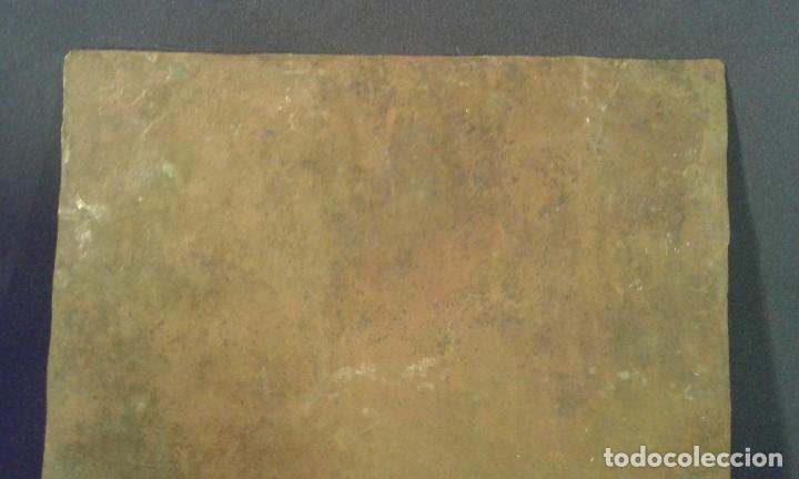 Arte: San Francisco. Óleo sobre cobre. Siglo XVII - XVIII. - Foto 16 - 175785964