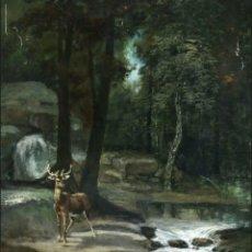 Arte: (DESPUES DE) GUSTAVE COURBET (FRANCÉS, 1819-1877) OLEO SOBRE LIENZO S.XIX. Lote 175815827