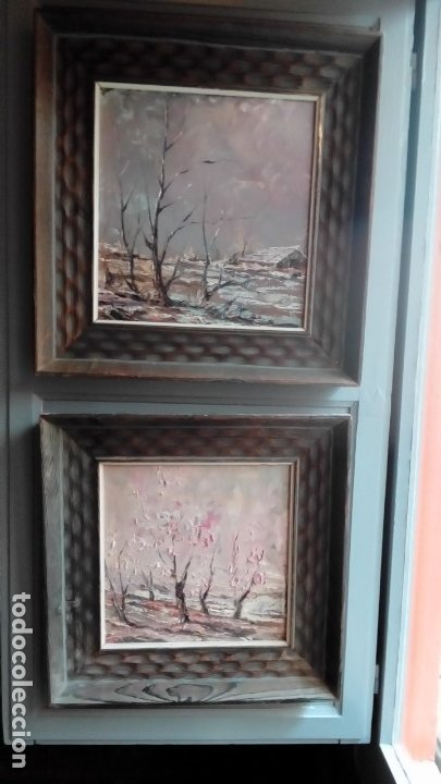 OLEO SOBRE TABLEX-PAREJA (Arte - Pintura - Pintura al Óleo Contemporánea )