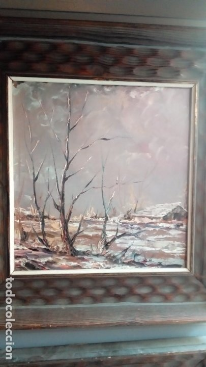 Arte: oleo sobre tablex-PAREJA - Foto 2 - 175822333