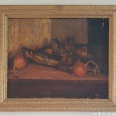 Arte: ESCUELA CATALANA (XIX-XX) - NATURALEZA MUERTA.ANONIMO.OLEO/TELA.. Lote 175838732