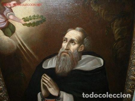 FRAY JUAN GIL. GRAN OLEO SIN MARCO. S. 18 - PP. 19 (Arte - Pintura - Pintura al Óleo Antigua siglo XVIII)