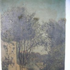 Arte: RAMOS ARTAL MANUEL- ÓLEO SOBRE LIENZO REPRESENTANDO PAISAJE . Lote 175907375