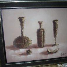 Arte: CUADRO OLEO SOBRE LIENZO 78X63 CM, FIRMADO. Lote 175919052