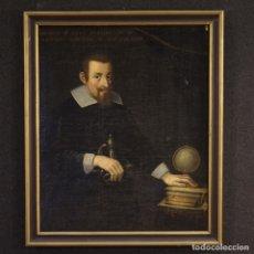 Arte: PINTURA ITALIANA ANTIGUA RETRATO DE UN CABALLERO DEL SIGLO XVIII. Lote 175957207
