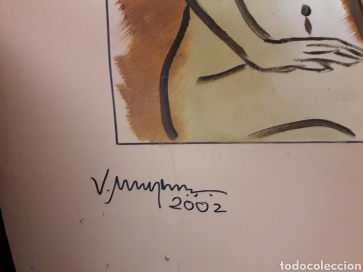Arte: Cuadro óleo lienzo firmado - Foto 2 - 175959562