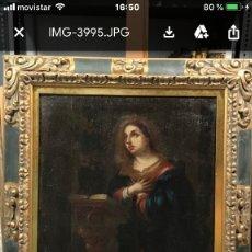 Arte: ANUNCIACION DE LA VIRGEN, ESC. SEVILLANA, SIGLO XVII. Lote 176098554