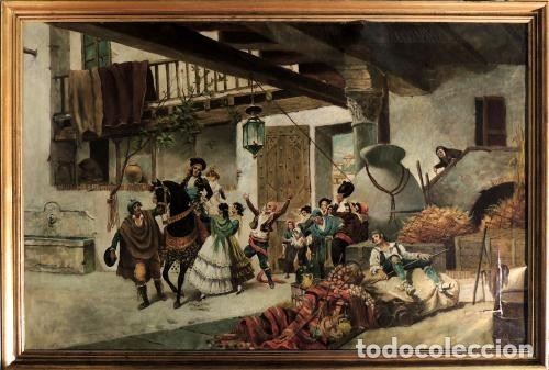 ESCUELA ANDALUZA SIGLO XIX (Arte - Pintura - Pintura al Óleo Contemporánea )