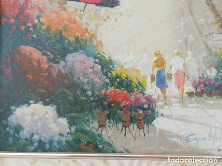 Arte: ÓLEO SOBRE TELA FIRMA ILEGIBLE. ENMARCADO. - Foto 3 - 176107228