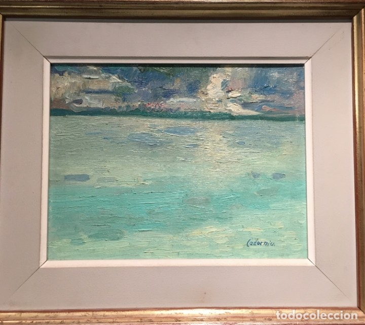 Arte: Marina por Daniel Codorniu (Palma de Mallorca 1943) - Foto 3 - 176228520