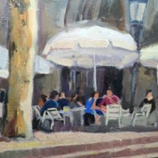 Arte: OLEO DE ANNA DAUDER -1995............ BARCELONA 1964-. Lote 176358794