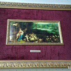Arte: LÁMINA ÓLEO ANTIGUA B. DE VELOURS SIGLO XVI REPRODUCCIÓN. Lote 176363070