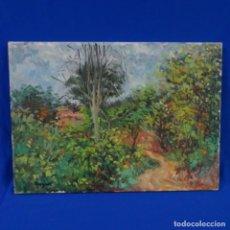 Arte: OLEO SOBRE TELA.FIRMADO HUGUET.. Lote 176454392