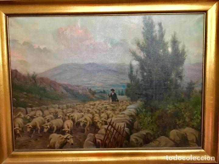 RAMÓN BORRELL I PLA -(BARCELONA 1876-1963) (Arte - Pintura - Pintura al Óleo Antigua sin fecha definida)