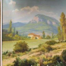 Arte: POUS I PALAU, ANTONI, ( PINTOR, DE SABADELL ) OLEO SOBRE TABLA. Lote 176531615