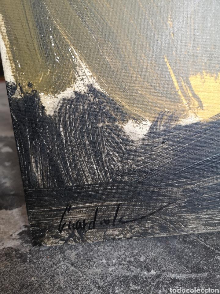 Arte: SIN TÍTULO, LUIS GUARDIOLA, 100X100CM ACRÍLICO SOBRE LIENZO - Foto 4 - 176565517