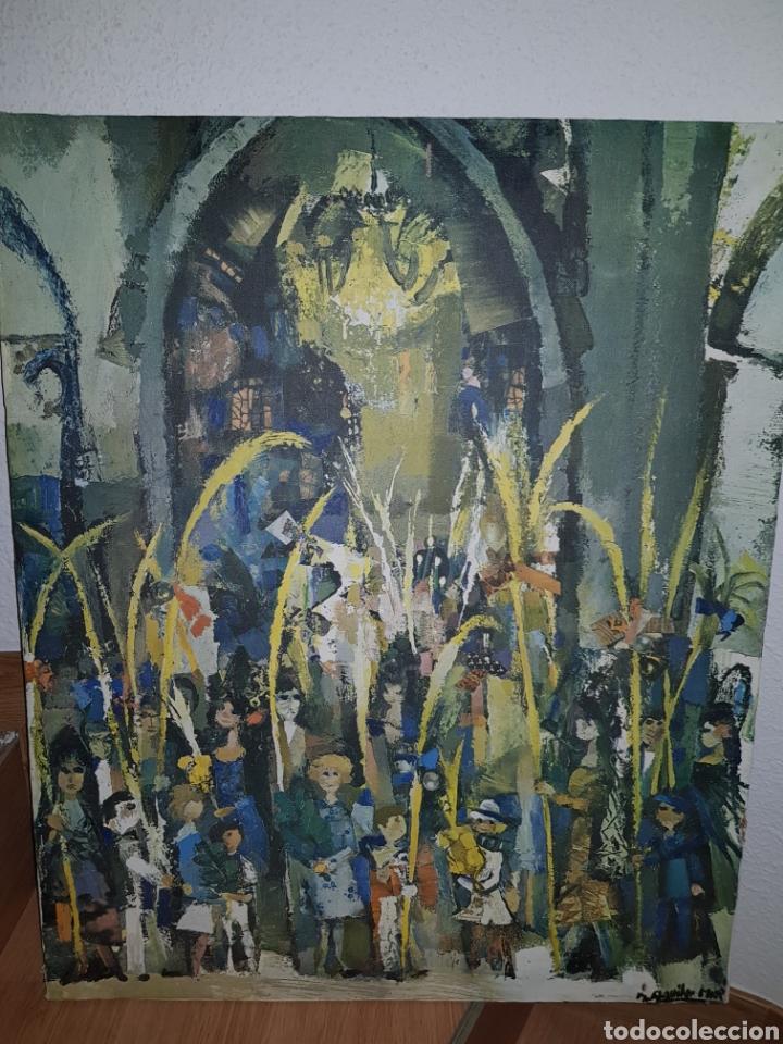 Arte: Ramon aguilar moré por identificar domingo de ramos - Foto 2 - 176593095