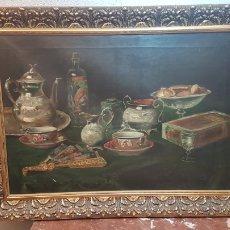 Arte: BODEGON FIRMADO ( L. STUYCK ) ??. FECHADO 91.FINALES DEL SIGLO XVIII. STUYCK, LIVINIO GIORGIO. Lote 176596294