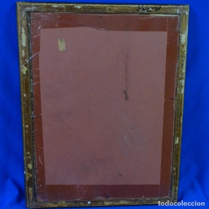 Arte: Oleo sobre papel de Joan capella arenas.vista a través de la ventana.gran calidad. - Foto 11 - 176606520