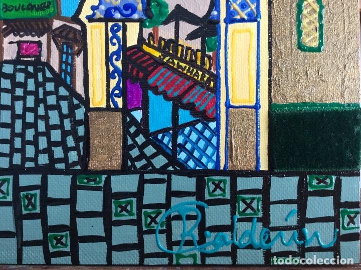 Arte: BOUJLOUD FEZ obra de temática orientalista de Ruth Calderín - Foto 3 - 176669750