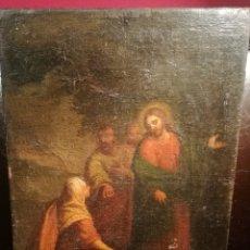 Arte: CRISTO CON MARÍA MAGDALENA. ESCUELA ITALIANA DEL S.XVII. Lote 176680314