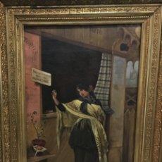 Arte: TAQUILLA DE LA PLAZA DE TOROS POR JOAN FIGUERAS Y SOLER (SABADELL, BARCELONA 1863-1921). Lote 176726682